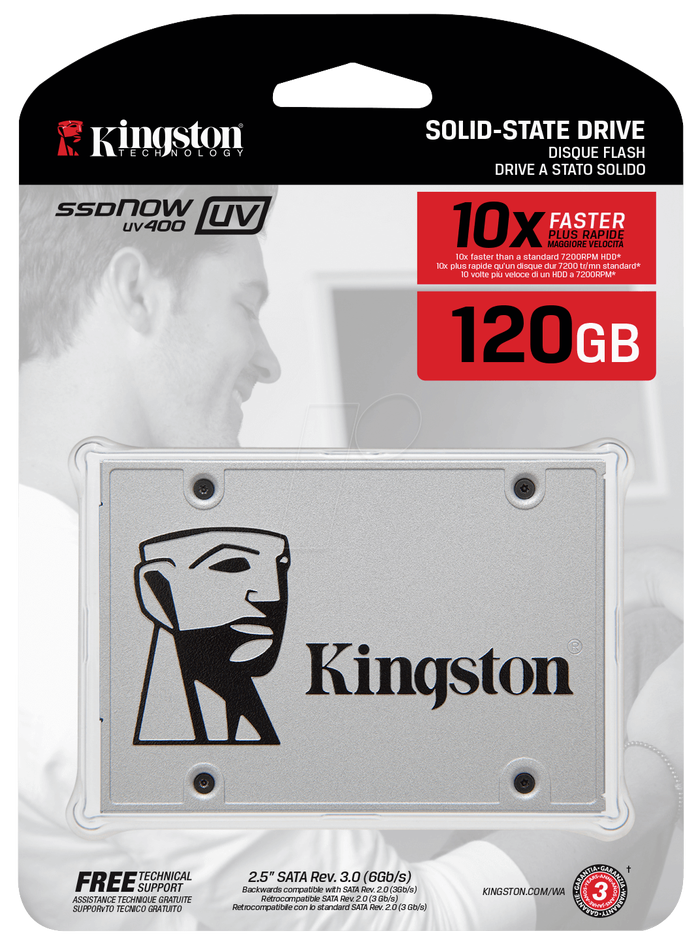 SSD Kingston UV 400 120GB Internal