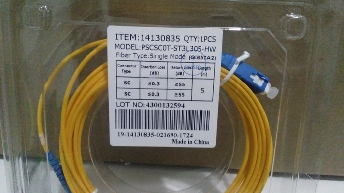 PatchCord SC to LC