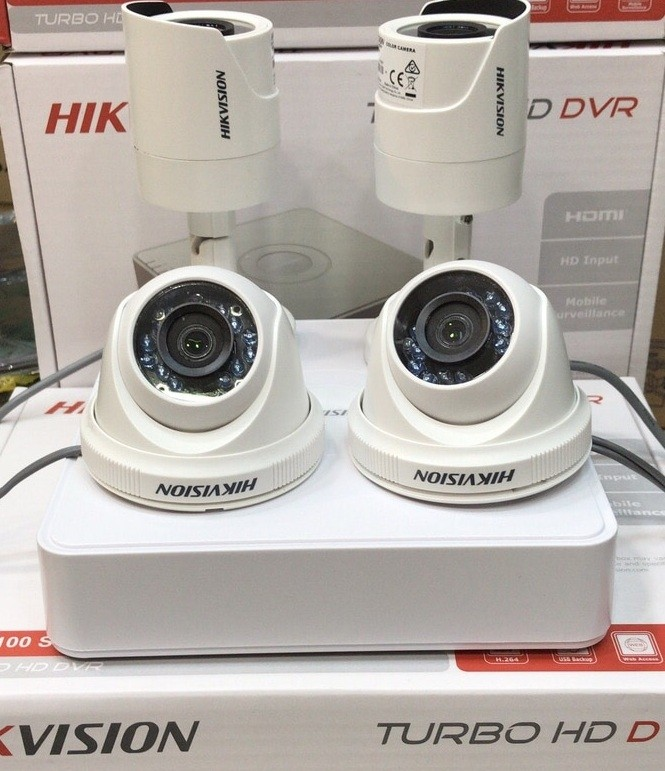 Paket cctv Hikvision 4 channel HD