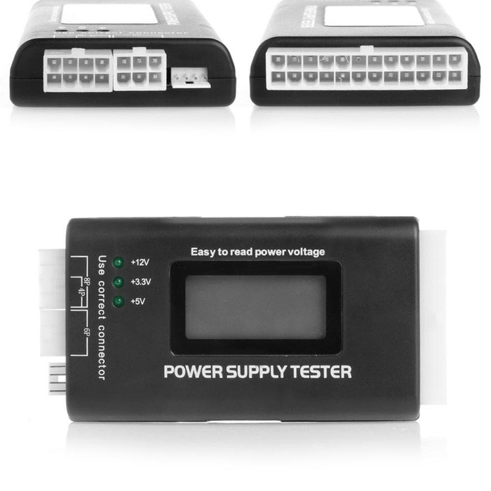 Power Supply tester, jual Power Supply tester ATX, PSU Volt Tester, jual Power Supply tester, jual Power Supply tester ATX, Jual PSU Volt Tester