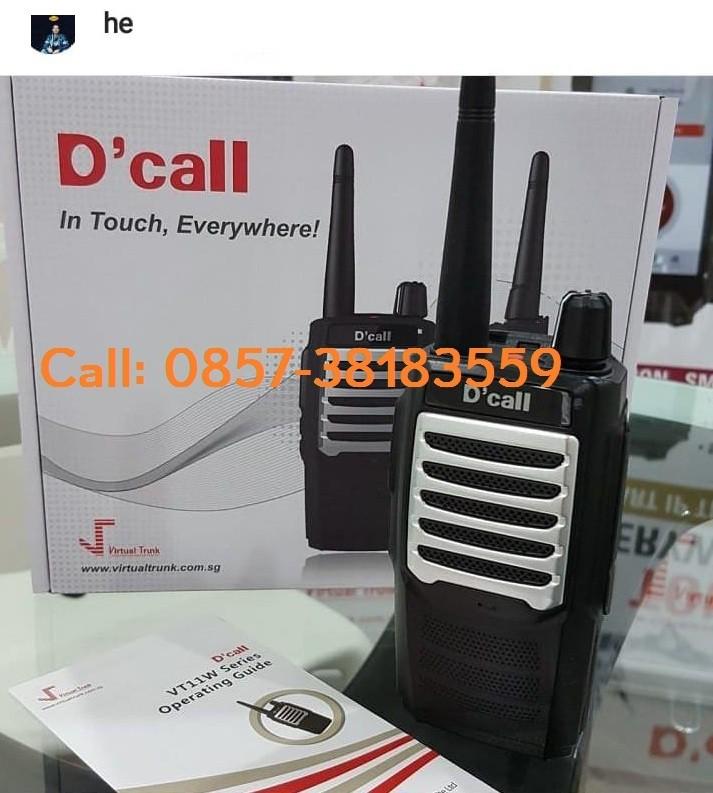 Rental HT GSM 3G PTT
