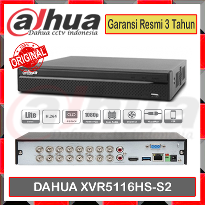 DVR XVR CCTV DAHUA 16 CHANNEL