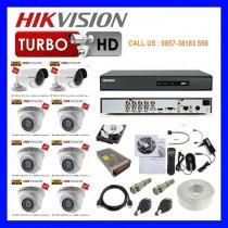 Paket cctv Hikvision 8 channel HD