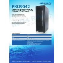 Rack indorack PRO9042 42U depth 900mm