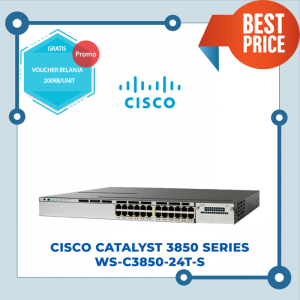 Cisco Catalayst 3850 WS-C3850-24T-S SNT